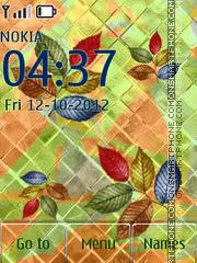 Herbarium theme screenshot