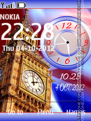 London Tower Dual es el tema de pantalla
