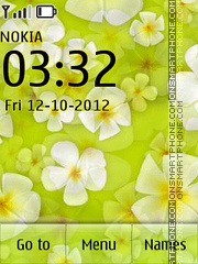 Spring Flowers theme screenshot