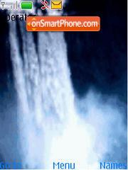 Animated Waterfall theme screenshot