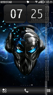 Alien music tema screenshot