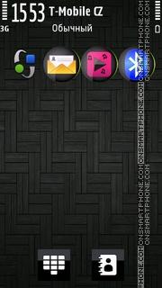 Black Lines 01 es el tema de pantalla