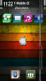Grunge Apple theme screenshot