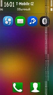 Colorful Licky theme screenshot