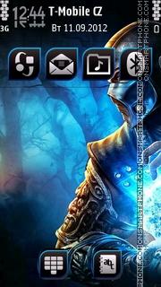 Warrior 02 tema screenshot