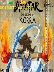 Avatar The Legend Of Korra theme screenshot