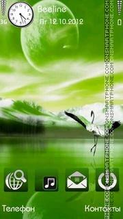 Green Fantasy es el tema de pantalla