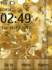 Golden theme screenshot