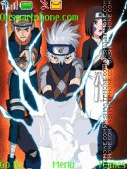 Naruto Kakashi Gaiden theme screenshot