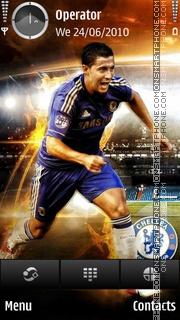 Eden Hazard tema screenshot