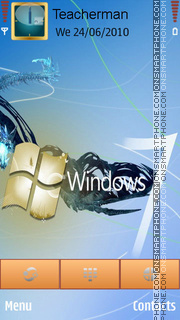 Windows 7 Logo theme screenshot