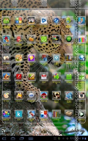 Cheetah 09 tema screenshot