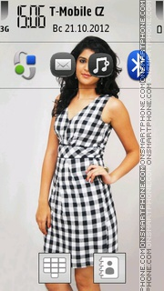 Deeksha Seth theme screenshot