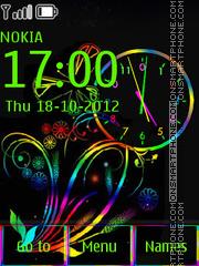 Colored theme screenshot