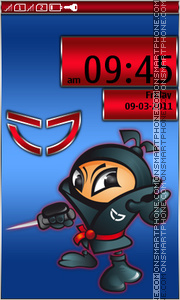 NInja 04 theme screenshot