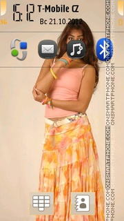 Genelia theme screenshot