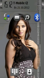 Neetu Chandra theme screenshot
