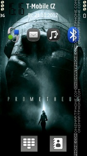 Prometheus Theme-Screenshot