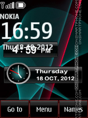 Nokia World tema screenshot