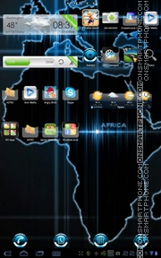 Earthmaps theme screenshot