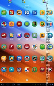 Stitched theme screenshot