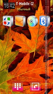 Bright Autumn. tema screenshot