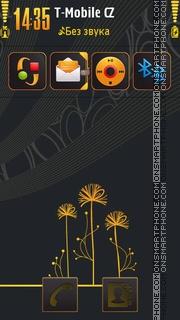 Mio Orange S60v5 theme screenshot