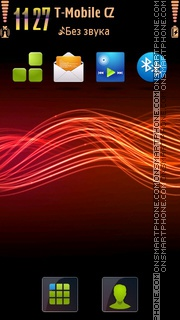 Lines s60v5 tema screenshot