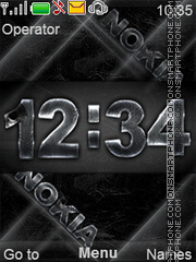 Metall theme screenshot