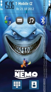 Finding Nemo theme screenshot