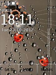 Ladybirds And Net theme screenshot