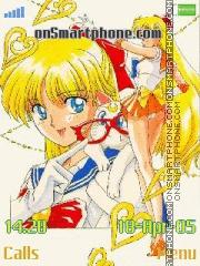 Sailor venus es el tema de pantalla