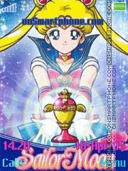 Sailor Moon es el tema de pantalla