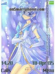 Sailor Mercury es el tema de pantalla