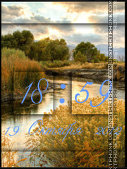 Autumn River theme screenshot