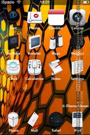 Скриншот темы Orange 328