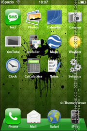 New Apple Logo theme screenshot