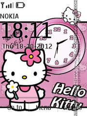 Hello kitty Dual tema screenshot