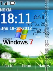 Windows 7 Digital 01 Theme-Screenshot