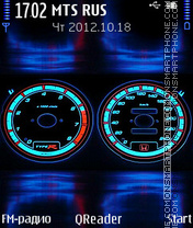 Tuning theme screenshot