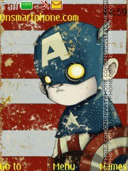 Captain America Zombie es el tema de pantalla