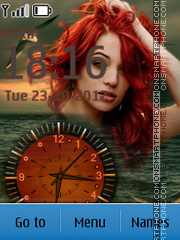 Capture d'écran Ocean thème