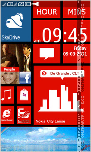 Lumia 820 theme screenshot