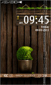 WoodenApple theme screenshot
