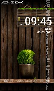 Скриншот темы WoodenApple