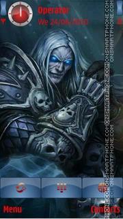 Master Of Skulls theme screenshot