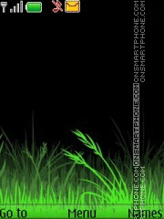 Скриншот темы Grass 3d Sketch Icons