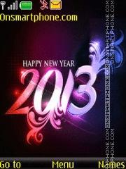 Happy New Year 2013 01 tema screenshot