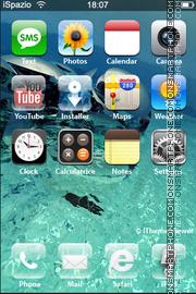 Aquas theme screenshot