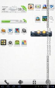 Скриншот темы Aerish GTX